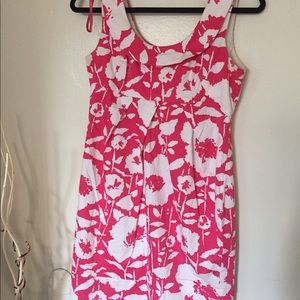 Donna Ricco pink and white flora dress